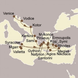 Enchanting Isles and Adriatic Gems Seabourn Cruise