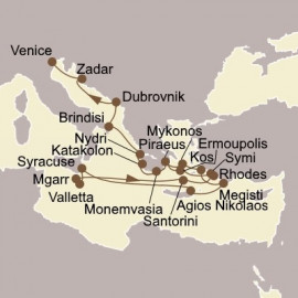 Aegean and Adriatic Odyssey Seabourn Cruise