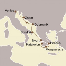 Greece and Dalmatian Delights Itinerary