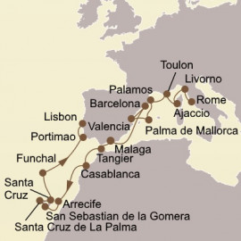 Florence and Spanish Discoveries Seabourn Cruise
