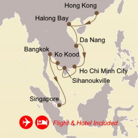 Fly Cruise Holiday Vietnam and Thailand Itinerary