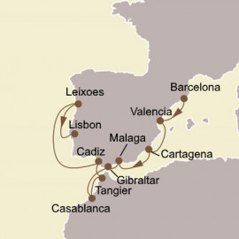 Iberian Gems and Morocco Itinerary