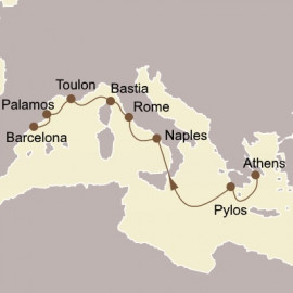 Gems of Italy and Spain Itinerary