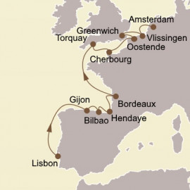 Vintage Europe Seabourn Cruise