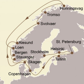 Scandinavian Gems and St Petersburg Seabourn Cruise
