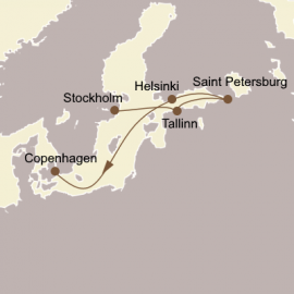 St Petersburg and The Baltic Seabourn Cruise