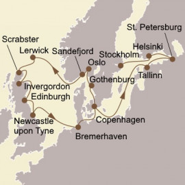 Northern Gems and Baltic Itinerary