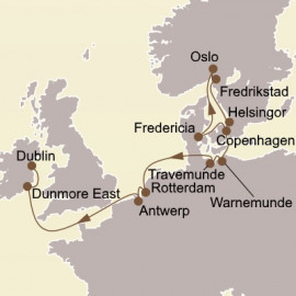 Gems of Northern Europe Seabourn Cruise
