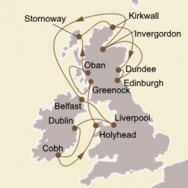 Classics of the British Isles Itinerary