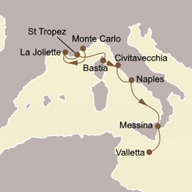 Riviera Gems and Rome Seabourn Cruise