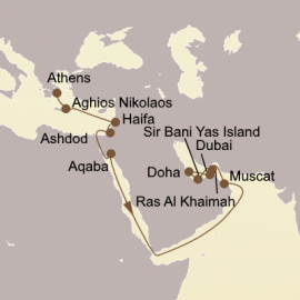 Empires Of The Sun Itinerary