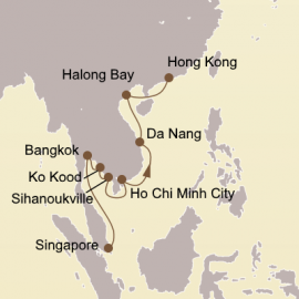 Holiday Thailand and Vietnam Itinerary