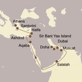 Arabia snd Antiquities Itinerary