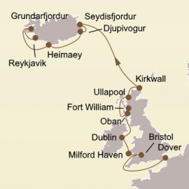 British Isles and Iceland Itinerary