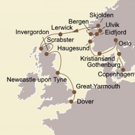 Norway and Northern Isles Seabourn Cruise