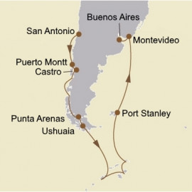 Ultimate Antarctica and Patagonia Seabourn Cruise