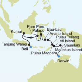 Asia Expedition Silversea Cruises Cruise