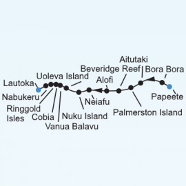 South Pacific Islands Expedition Itinerary