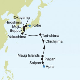 Asia Expedition Itinerary