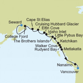 Alaska Expedition Silversea Cruises Cruise