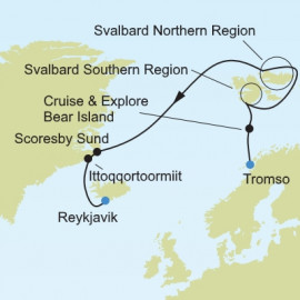 Arctic and Greenland Expedition Itinerary