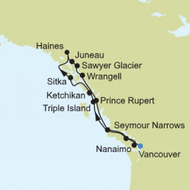 Vancouver to Vancouver  Silversea Cruises Cruise