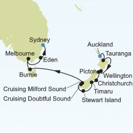 New Zealand and Australia Silversea Cruises Cruise