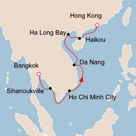 Bangkok to Hong Kong Viking Ocean Cruises Cruise