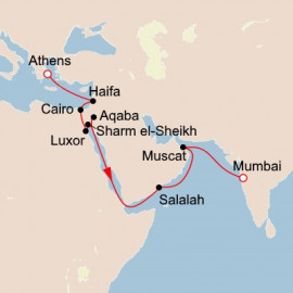 Passage to India  Itinerary