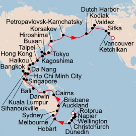 Grand Pacific Explorer Itinerary