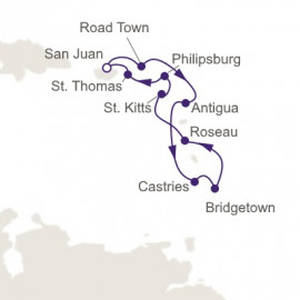 West Indies Explorer Itinerary