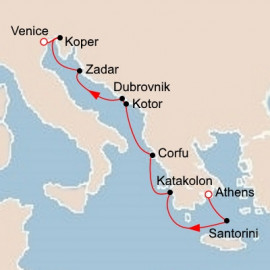Empires of the Mediterranean Itinerary