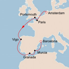 Amsterdam to Catalonia Viking Ocean Cruises Cruise