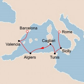 Southern Mediterranean Discovery Viking Ocean Cruises Cruise