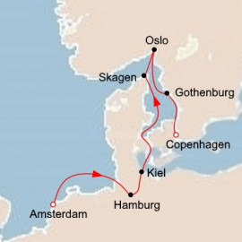 Scandinavia and the Kiel Canal Itinerary