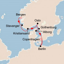 Majestic Fjords and Vibrant Cities Itinerary