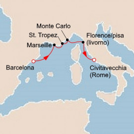 Iconic Western Mediterranean Itinerary