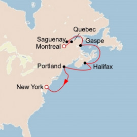 Eastern Seaboard Discoveries Itinerary