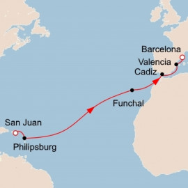 West Indies to Spain Viking Ocean Cruises Cruise