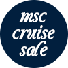 MSC Cruises 25% off sale