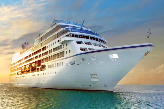 Oceania Cruises Sirena new zealand Across NZ