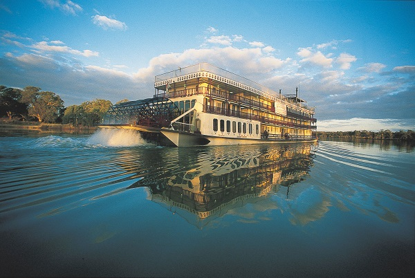 Captain Cook Cruises Murray Princess australia Salamanda Travel