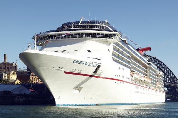 Carnival Cruises Carnival Spirit new zealand Across NZ
