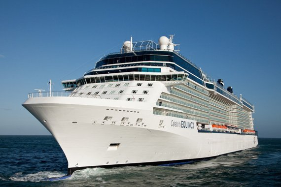Celebrity Cruises Celebrity Equinox new zealand Across NZ
