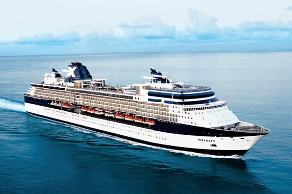Celebrity Cruises Celebrity Infinity new zealand NewZealandNZ