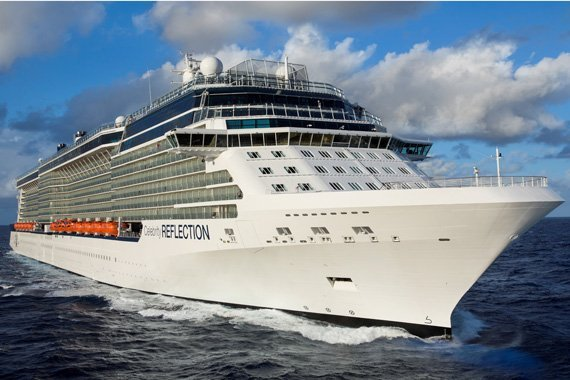 Celebrity Cruises Celebrity Reflection new zealand Across NZ