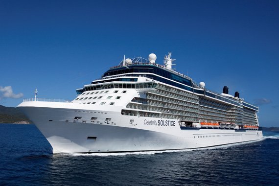 Celebrity Cruises Celebrity Solstice new zealand Across NZ