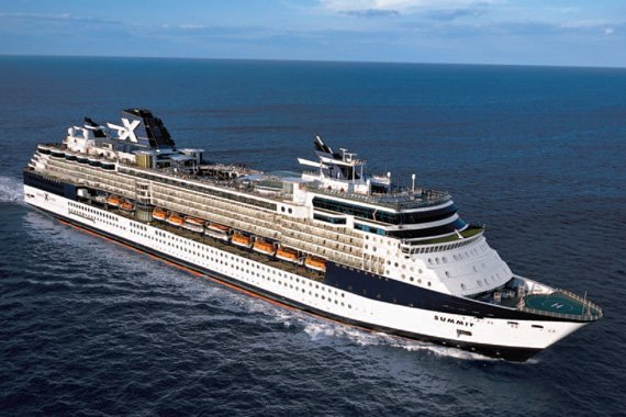 Celebrity Cruises Celebrity Summit new zealand Across NZ