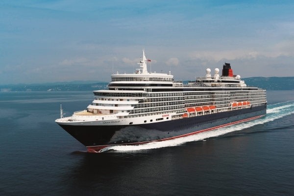 Cunard Queen Elizabeth new zealand Across NZ