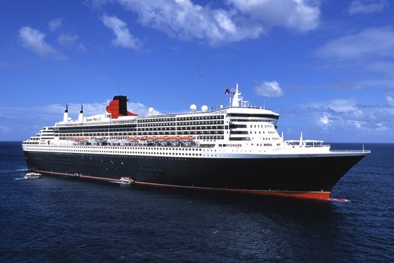 Cunard Queen Mary 2 new zealand Across NZ